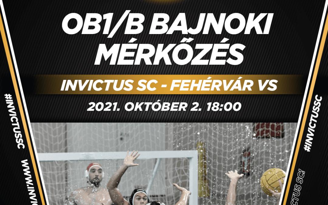 Első hazai OB1/b-s mérkőzésünk!